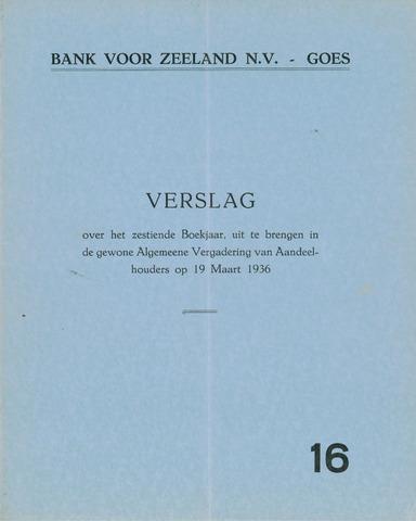 Bank voor Zeeland 1935