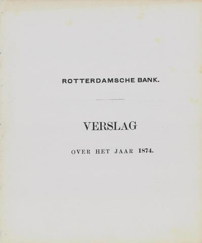 Rotterdamsche Bank 1874