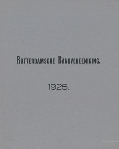 Rotterdamsche Bank 1925