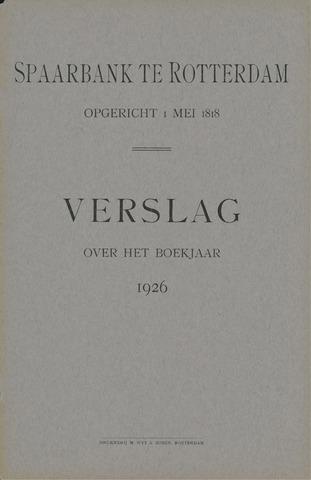 Spaarbank te Rotterdam 1926