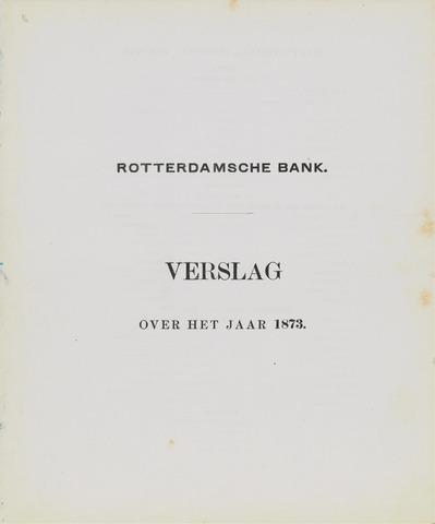 Rotterdamsche Bank 1873