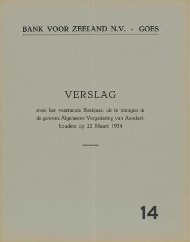 Bank voor Zeeland 1933