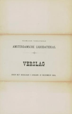 Amsterdamsche Liquidatiekas - Amsterdamsche Goederenbank 1895