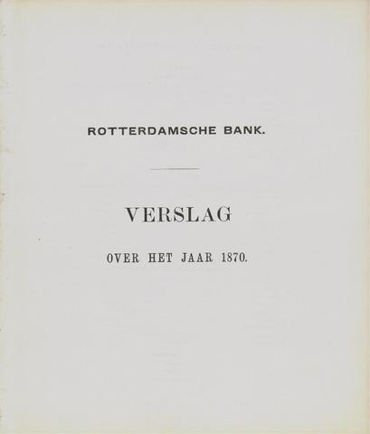 Rotterdamsche Bank 1870