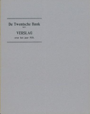 Twentsche Bank 1928