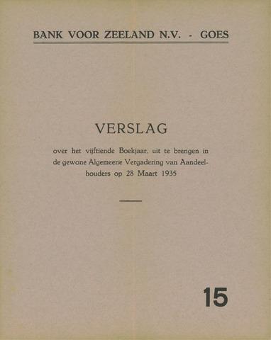 Bank voor Zeeland 1934