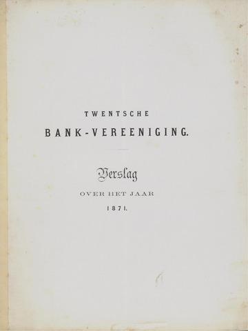 Twentsche Bank 1871