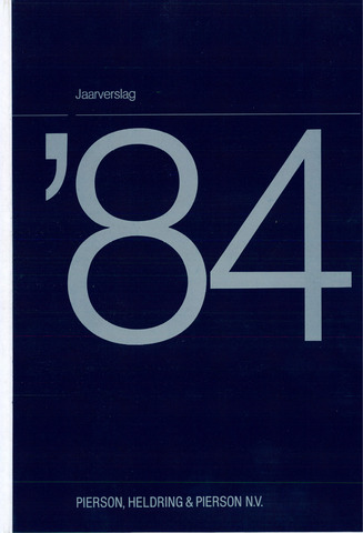 Pierson, Heldring & Pierson 1984