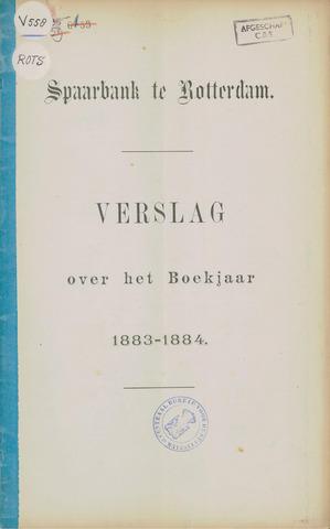 Spaarbank te Rotterdam 1883