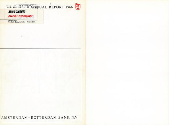Amro Bank 1966