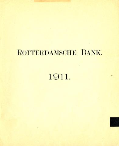 Rotterdamsche Bank 1911