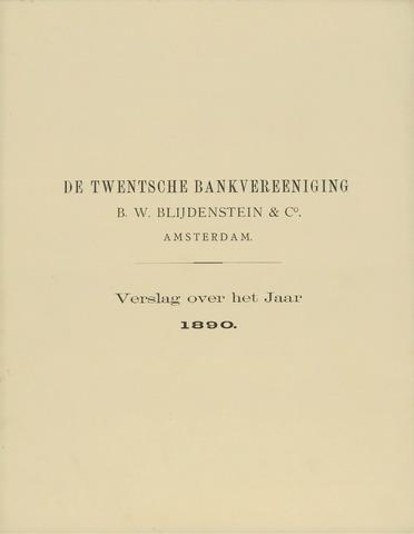 Twentsche Bank 1890