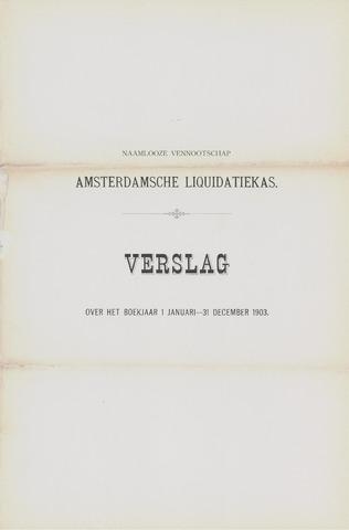 Amsterdamsche Liquidatiekas - Amsterdamsche Goederenbank 1903-01-01