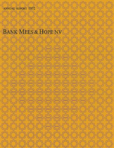 Bank Mees & Hope 1972