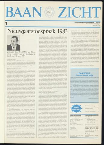 Bank Mees & Hope - Baanzicht 1983