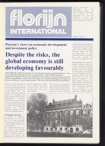 Pierson, Heldring & Pierson - Florijn International 1989