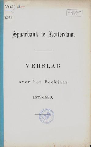 Spaarbank te Rotterdam 1879