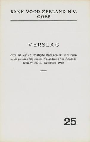 Bank voor Zeeland 1944