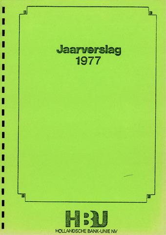 Hollandsche Bank-Unie 1977
