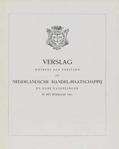 Nederlandsche Handel-Maatschappij 1923