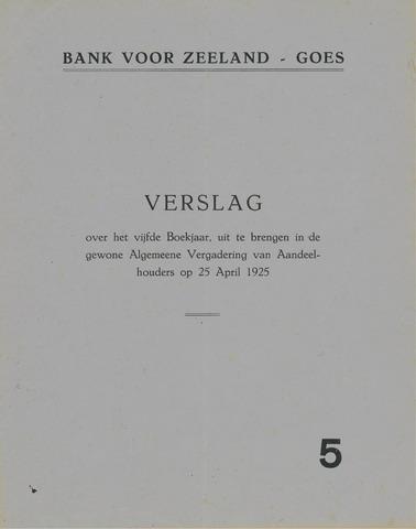 Bank voor Zeeland 1924