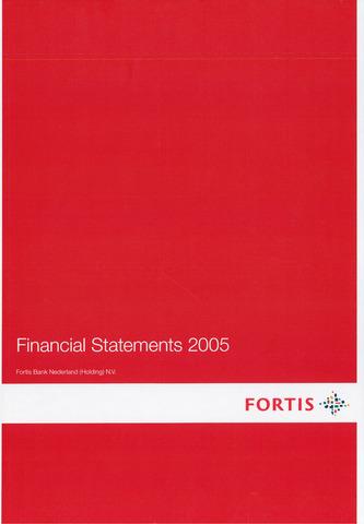 Fortis Bank Nederland 2005