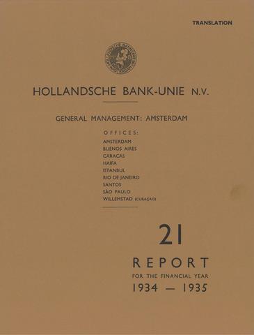 Hollandsche Bank-Unie 1934