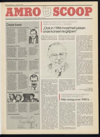 Amro Bank - Amroscoop 1986