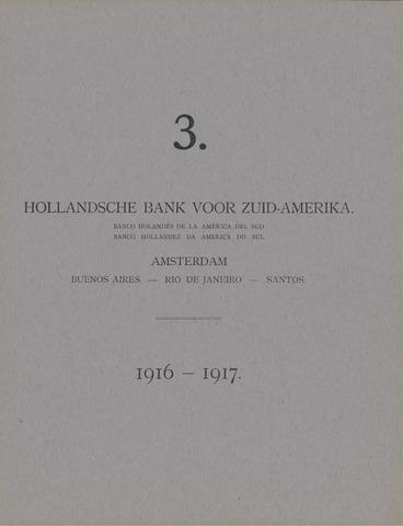 Hollandsche Bank voor Zuid-Amerika 1916