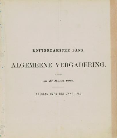 Rotterdamsche Bank 1864