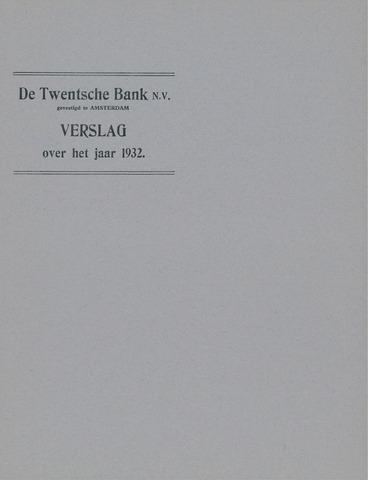 Twentsche Bank 1932