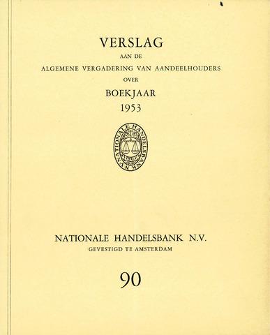 Nationale Handelsbank 1953