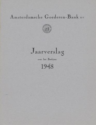 Amsterdamsche Liquidatiekas - Amsterdamsche Goederenbank 1948-01-01