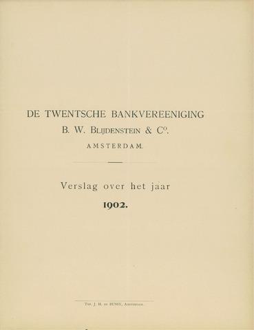 Twentsche Bank 1902