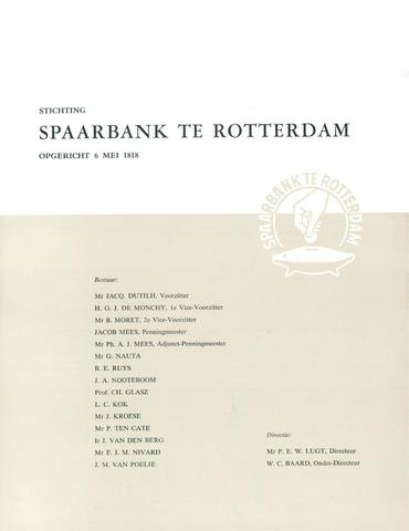 Spaarbank te Rotterdam 1959