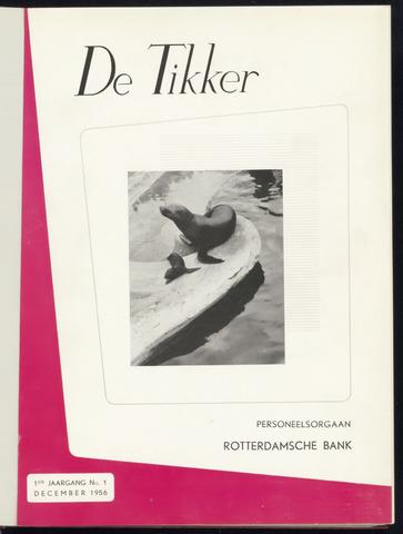 Rotterdamsche Bank - De Tikker 1956