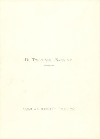 Twentsche Bank 1960