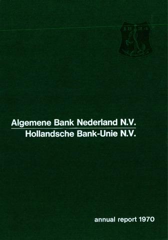 Algemene Bank Nederland 1970