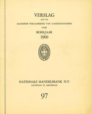 Nationale Handelsbank 1960