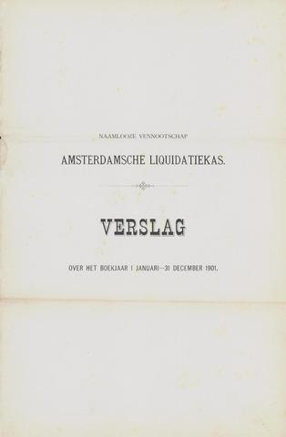 Amsterdamsche Liquidatiekas - Amsterdamsche Goederenbank 1901