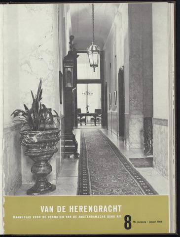 Amsterdamsche Bank - Van de Herengracht 1964