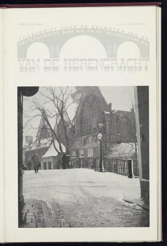 Amsterdamsche Bank - Van de Herengracht 1958