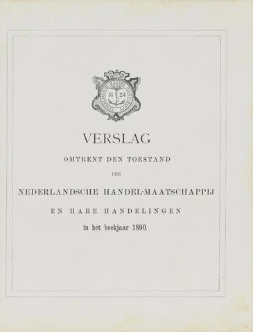 Nederlandsche Handel-Maatschappij 1890