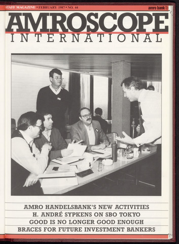 Amro Bank - Amroscoop International 1987