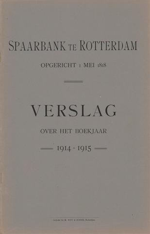Spaarbank te Rotterdam 1914