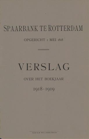 Spaarbank te Rotterdam 1918