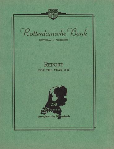 Rotterdamsche Bank 1952