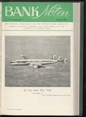 De Twentsche Bank - Banknoten 1958