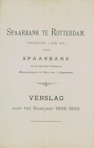 Spaarbank te Rotterdam 1898