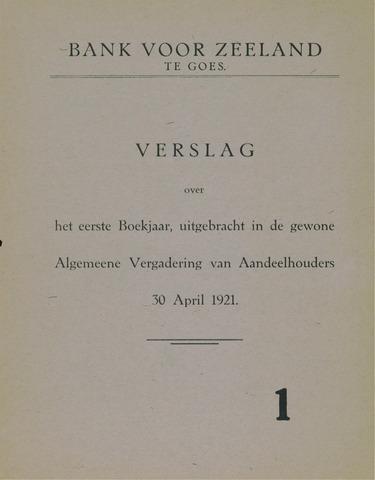 Bank voor Zeeland 1920